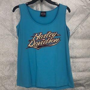 Harley-Davidson 100% Cotton sleeveless t-shirt